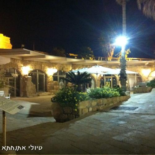 טיול לילי בעתיקות קיסריה