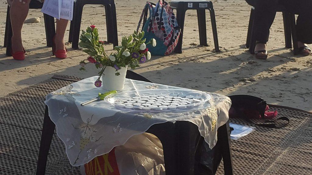 קבלת שבת בחוף דור